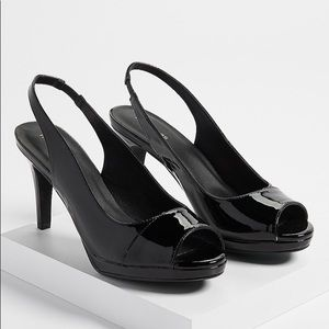 Maurice's Nadia sling back heel
